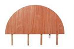 Bild Gavelstycke Kongress 60 cm, Vit-Krom