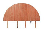 Bild Gavelstycke Kongress 60 cm, Vit-Svart