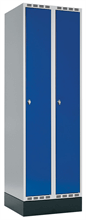 Klädskåp 2 dörrar, B600 mm