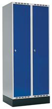 Klädskåp 2 dörrar, B800 mm