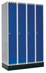 Klädskåp 4 dörrar, B1200 mm