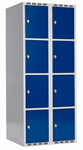 Skåp delad dörr, 4 fack i höjd B800
