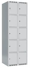 Skåp 5 dörrar i höjd, 2 i bredd, B600