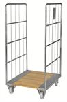 Rullcontainer 2 sidor - träbotten