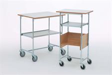 Rullbord - grå laminat