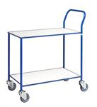 Helsvetsad bordsvagn blå