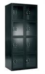 Förvaringsskåp med plexi dörr