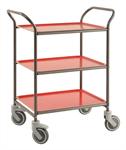 Brickvagn Antracitgrå/Röd
