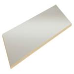 Lätt bordsskiva ESD grå laminat/kantlist trä