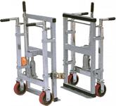 Hydraliskt transportör/kassaskåpslyft