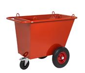 Avfallsvagn - Punkteringsfria hjul