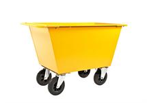Avfallsvagn - Massiva hjul