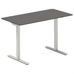 Höj- och sänkbart bord - antracit 1600x600