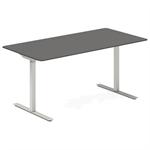 Höj- och sänkbart bord rektangulärt- antracit 1600x800