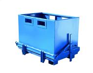 Bottentömmande container 700 l