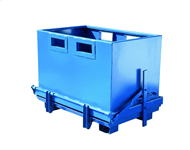 Bottentömmande container 1000 l