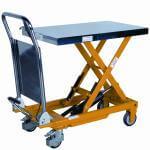 Lyftbordsvagn fotpump 500 kg