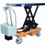 Lyftbordsvagn batteri 500 kg