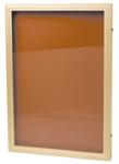 Låsbart anslagsskåp D64 Corklinoleum för utomhusbruk