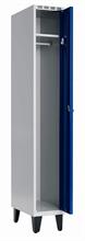 Klädskåp 1 dörr, B300 mm